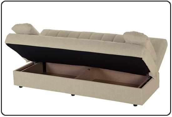 Divano letto contenitore in promozione materassi e materassi - Divano letto singolo con contenitore ...